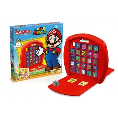 Nintendo - Jeu de stratégie Super Mario Top Trumps Match