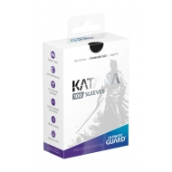 Ultimate Guard - 100 pochettes Katana Sleeves taille standard Noir