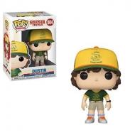 Stranger Things - Figurine POP! Dustin (At Camp) 9 cm