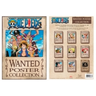 ONE PIECE - Portfolio 9 affiches Wanted (21x29,7)