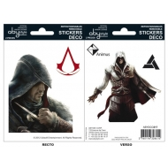 ASSASSIN'S CREED - Stickers - 16x11cm/ 2 planches - Ezio/Altaïr