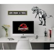 Jurassic Park - Stickers repositionnables Jurassic Park
