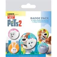 Comme des bêtes 2 - Pack 5 badges For Pet's Sake