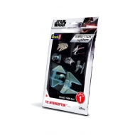 Star Wars - Maquette Série 1 Level 2 Easy-Click TIE Interceptor