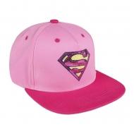DC Comics - Casquette Snapback Superman Pink