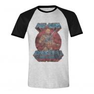 Les Maîtres de l'Univers - T-Shirt Raglan Musclor Pose
