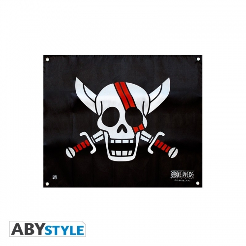 ONE PIECE - Drapeau Shanks (50x60)