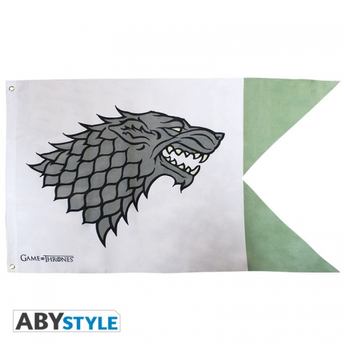 GAME OF THRONES - Drapeau Stark (70x120)
