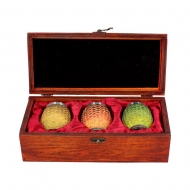 Game of Thrones - Pack 3 verres à liqueur Dragon Eggs