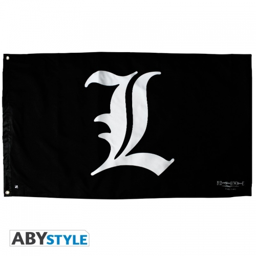 DEATH NOTE - Drapeau Logo L (70x120)