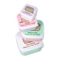 Pusheen - Pack 4 boîtes à goûter