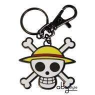 ONE PIECE - Porte-clés Skull - Luffy