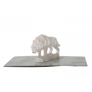 Game of Thrones - Carte pop-up 3D Direwolf
