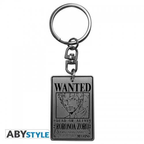 ONE PIECE - Porte-clés Wanted Zoro