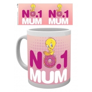 Looney Tunes - Mug Number One Mum Mothers Day