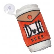The Simpsons - Mini Coussin avec ventouse Duff Beer 15 cm