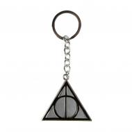 Harry Potter - Porte-clés métal Deathly Hallows