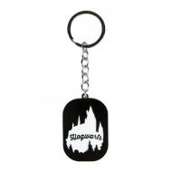 Harry Potter - Porte-clés métal Hogwarts