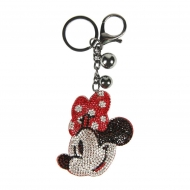 Disney - Porte-clés acrylique 3D Minnie Mouse Face