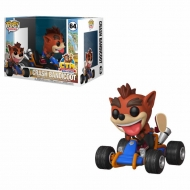 Crash Bandicoot Crash Team Racing - Figurine POP! Rides Vinyl figurine  15 cm