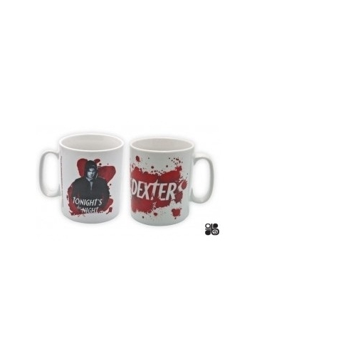 DEXTER - Mug Dexter Tonights the night en porcelaine (460 ML)