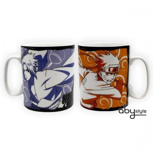 NARUTO SHIPPUDEN - Mug Naruto & Sasuke (460ml)