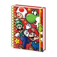Super Mario - Cahier à spirale A5 Wiro Run