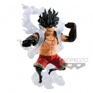 One Piece - Statuette King Of Artist Snakeman Luffy 14 cm