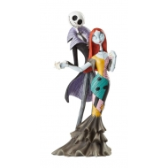 Disney - Statuette Showcase Collection Jack and Sally Deluxe (L'Étrange Noël de monsieur Jack) 22 cm