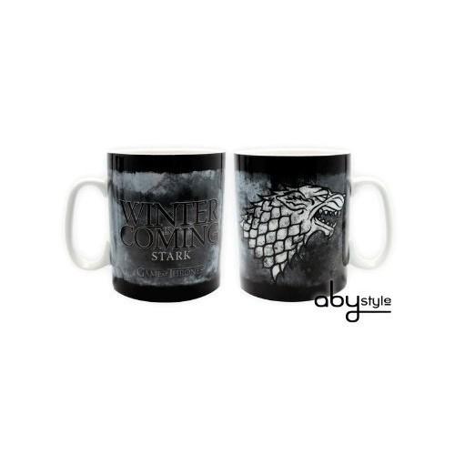GAME OF THRONES - Mug - 460 ml - Stark - porcl. avec boîte