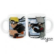 NARUTO SHIPPUDEN - Mug - 320 ml - Kakashi & Naruto - porcl. ac boite