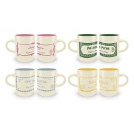 Harry Potter - Pack 4 tasses Espresso Potions Collection