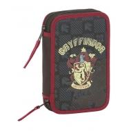 Harry Potter - Double trousse garnie 28 pièces Gryffindor