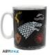 GAME OF THRONES - Mug - 460 ml - Sigles & Trône - porcl. avec boîte