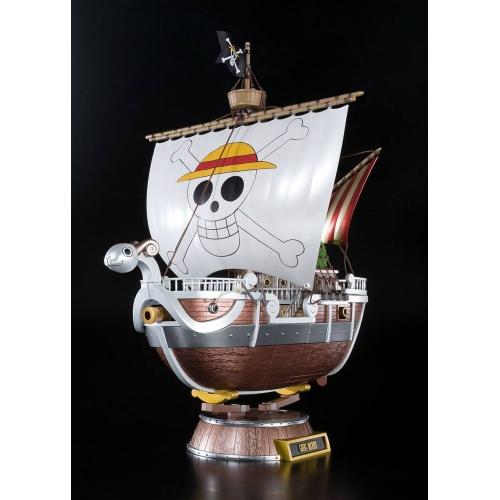 One Piece - Réplique Diecast Chogokin Going Merry 20th Memorial Edition 28 cm