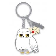 Harry Potter - Porte-clés métal Hedwig