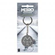 Metro Exodus - Porte-clés métal Spartan Logo