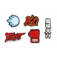 Street Fighter - Pack 5 pin's Icons