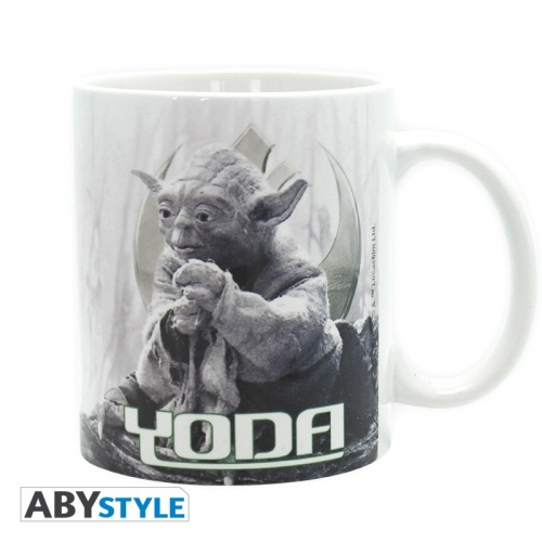 STAR WARS - Mug - 320 ml - Yoda Dagobah - subli - avec boite