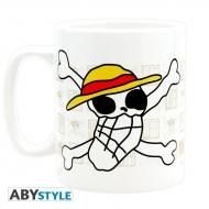 ONE PIECE - Mug - 460 ml - Skull - Dessin de Luffy - avec boîte