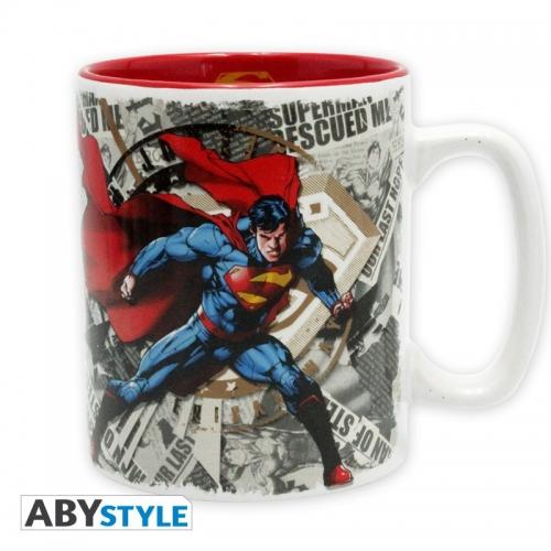 DC COMICS - Mug - 460 ml - Superman & logo - avec boîte