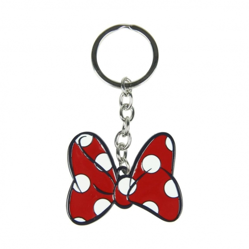 Disney - Porte-clés métal Minnie Mouse Bow