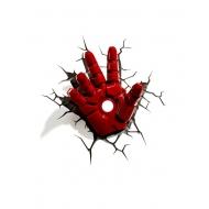 Marvel Avengers - Lampe 3D LED Iron Man Hand