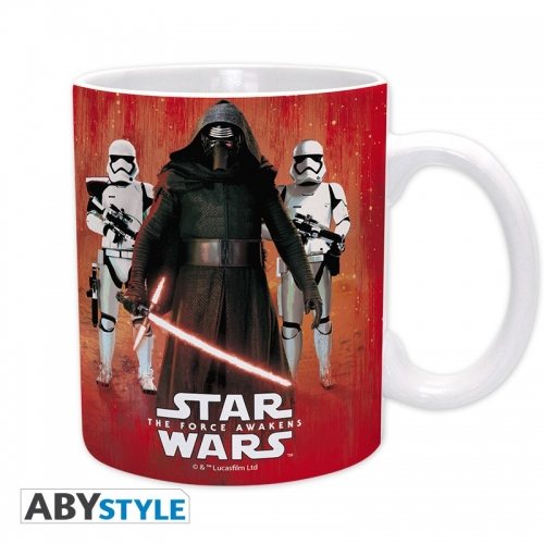STAR WARS - Mug Kylo Ren & Troopers