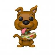 Scooby Doo - Figurine POP! Scooby Doo avec son Sandwich 9 cm
