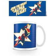 Captain Marvel - Mug Alpha Flight