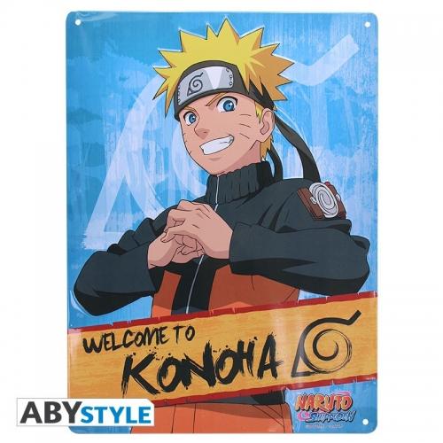 Naruto Shippuden - Plaque métal Naruto