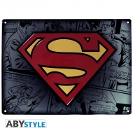 Superman - Plaque métal Superman