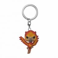 Harry Potter - Porte-clés Pocket POP! Fawkes 4 cm