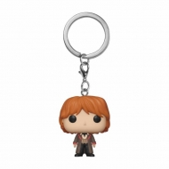Harry Potter - Porte-clés Pocket POP! Ron (Yule) 4 cm